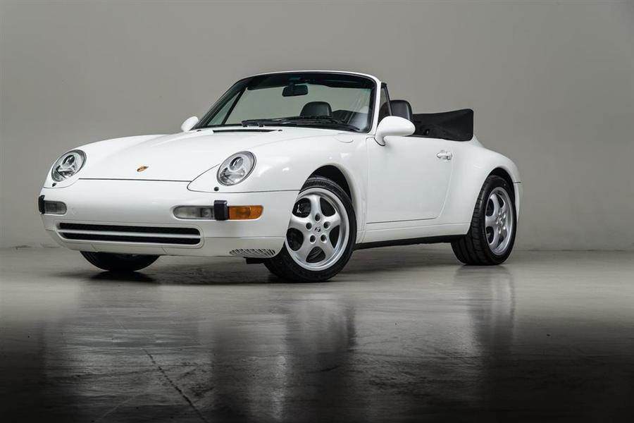 Porsche 911 993 Carrera Cabriolet 3.6 200kW-version, 1995 - #65