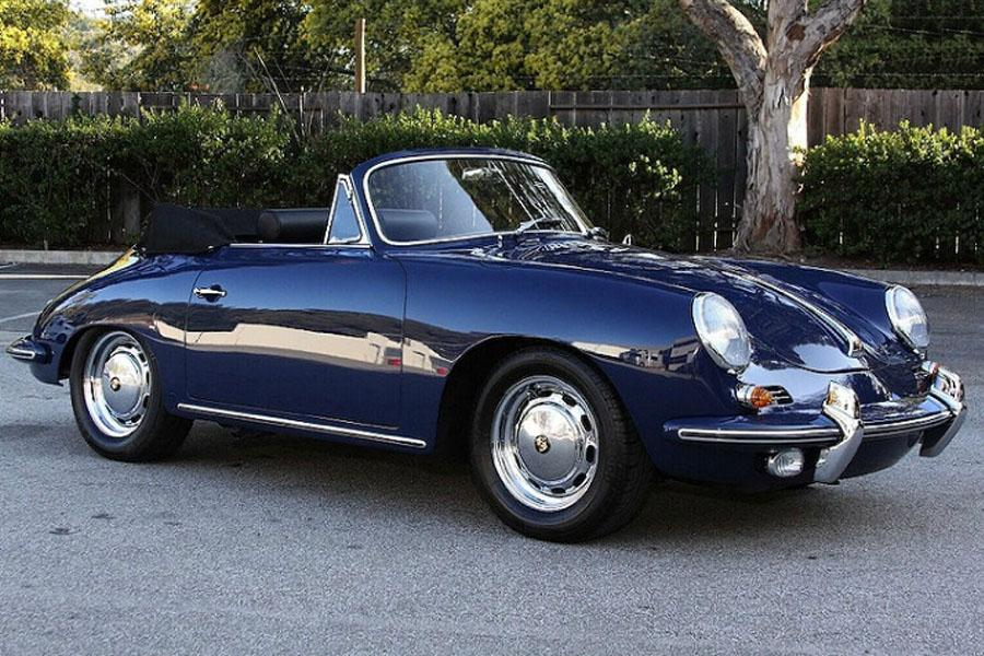 Porsche 356 C 1600 Sc Cabriolet 1964 For Show By Canepa