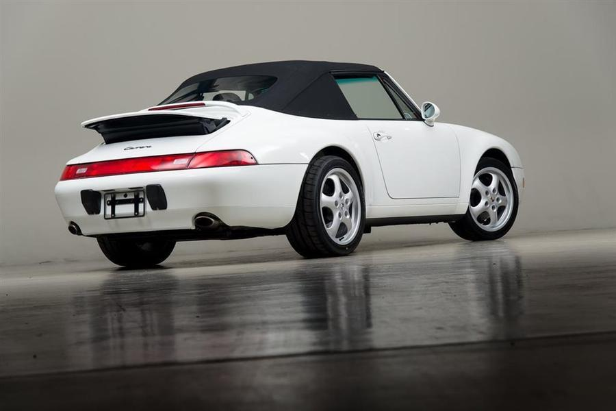 Porsche 911 993 Carrera Cabriolet 3.6 200kW-version, 1995 - #66