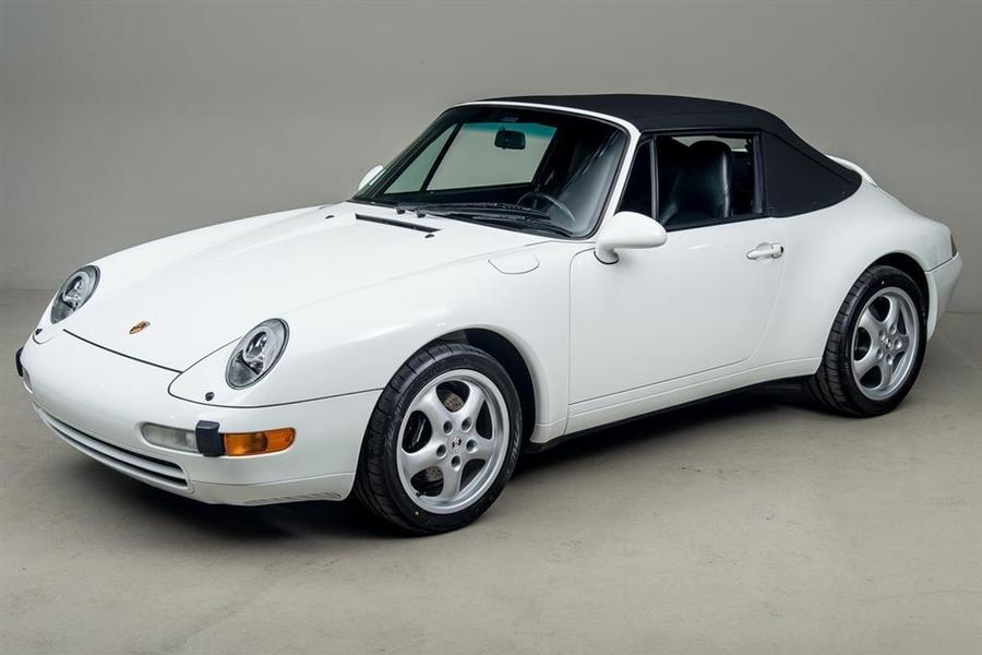 Porsche 911 993 Carrera Cabriolet 3.6 200kW-version, 1995 - #56