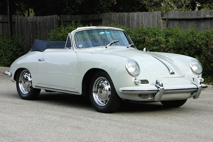Porsche 356 C 1600 Cabriolet 1964 For Show By Canepa