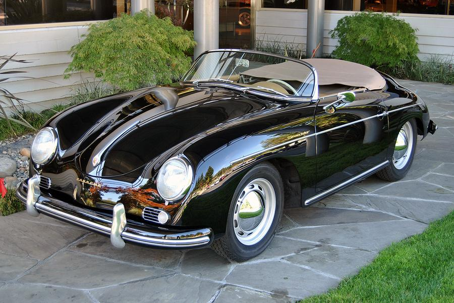 porsche 356 a 1600 speedster 1956 for show by canepa. Black Bedroom Furniture Sets. Home Design Ideas
