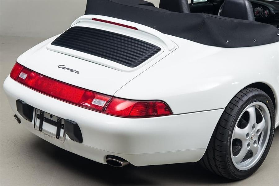 Porsche 911 993 Carrera Cabriolet 3.6 200kW-version, 1995 - #55