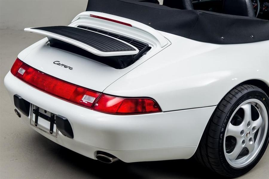Porsche 911 993 Carrera Cabriolet 3.6 200kW-version, 1995 - #54