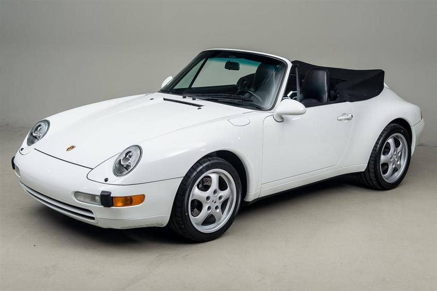 Porsche 911 993 Carrera Cabriolet 3.6 200kW-version, 1995 - #1
