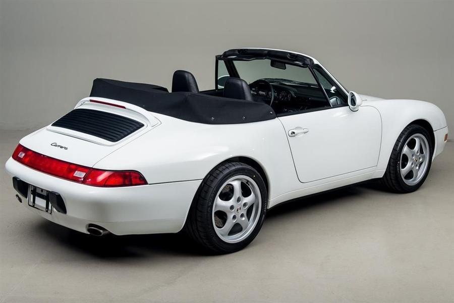Porsche 911 993 Carrera Cabriolet 3.6 200kW-version, 1995 - #7