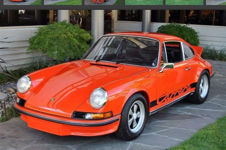 Porsche 911 1.gen. Carrera RS 2.7 Touring, 1973 - #1
