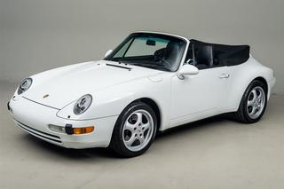 911 993 Carrera Cabriolet 3.6 200kW-version - Main exterior photo