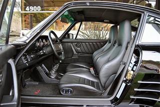 Porsche 911 G-model Turbo 3.3 Coupé Flachbau 210kW-version, 1987 - Primary interior photo