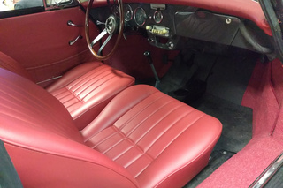 Porsche 356 C 1600 Coupé, 1964 - Primary interior photo
