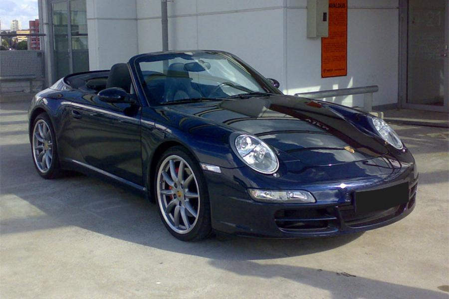 Porsche 911 997 Carrera S Cabriolet Mk1 2006 For Show By