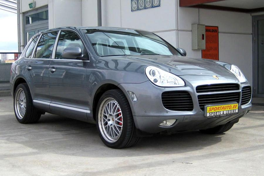 Porsche Cayenne 955 Turbo 2004 For Show By Sportauto Ee