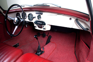 356 C 1600 SC Coupé - Main interior photo