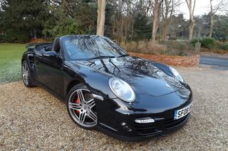 Porsche 911 997 Turbo Cabriolet 3.6, 2008 - Primary exterior photo