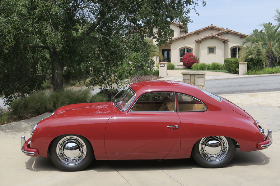 Porsche 356 pre-A 1500 Coupé 44kW-version, 1954 - #65