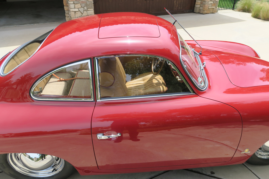 Porsche 356 pre-A 1500 Coupé 44kW-version, 1954 - #39