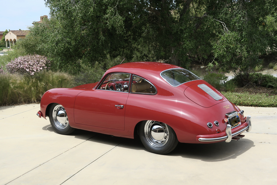 Porsche 356 pre-A 1500 Coupé 44kW-version, 1954 - #19