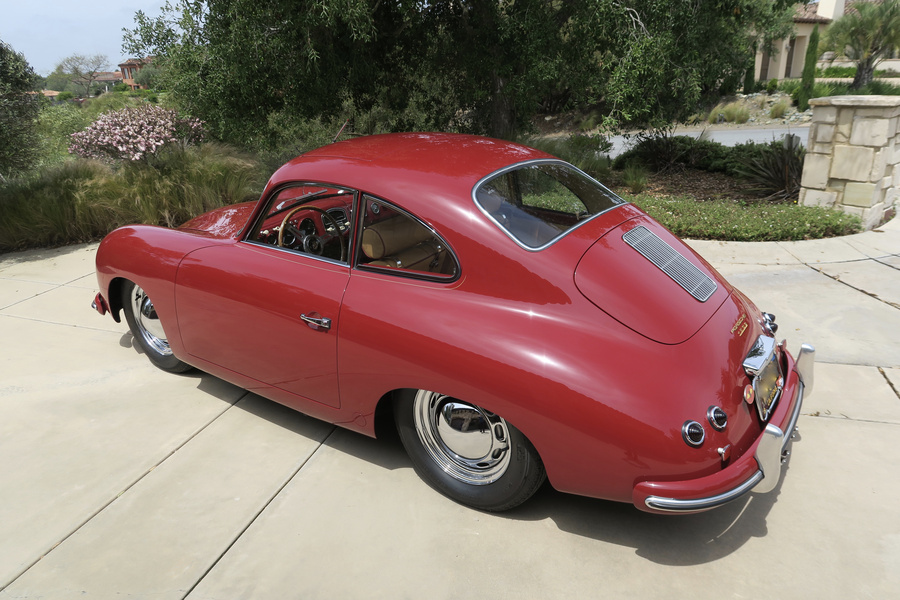 Porsche 356 pre-A 1500 Coupé 44kW-version, 1954 - #20