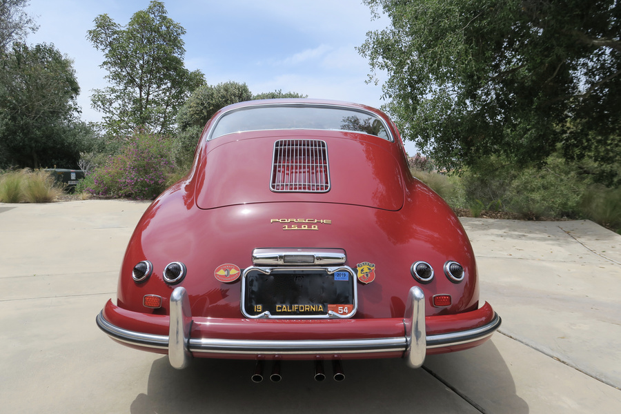 Porsche 356 pre-A 1500 Coupé 44kW-version, 1954 - #35