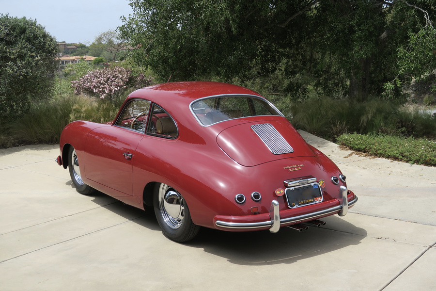 Porsche 356 pre-A 1500 Coupé 44kW-version, 1954 - #21