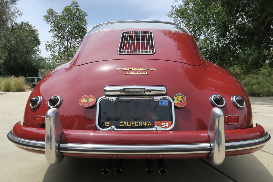 Porsche 356 pre-A 1500 Coupé 44kW-version, 1954 - #33
