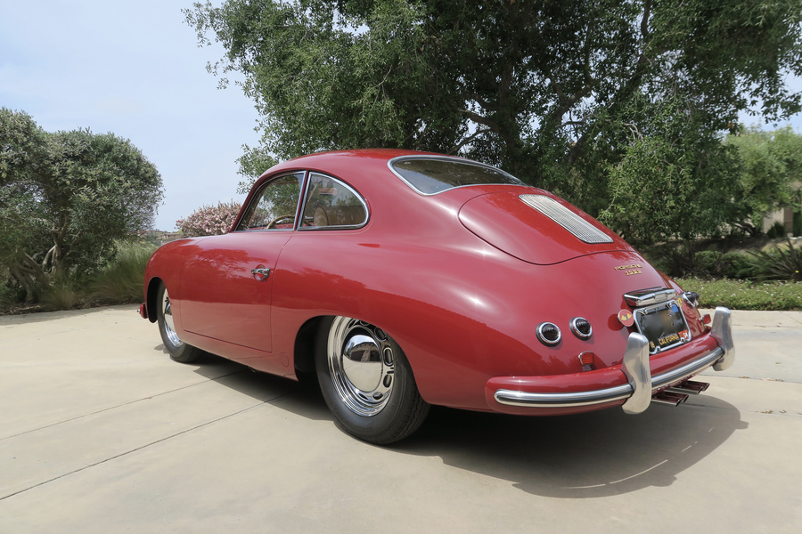 Porsche 356 pre-A 1500 Coupé 44kW-version, 1954 - #22