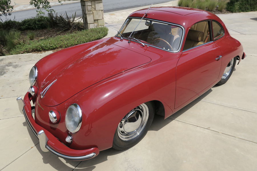 Porsche 356 pre-A 1500 Coupé 44kW-version, 1954 - #60