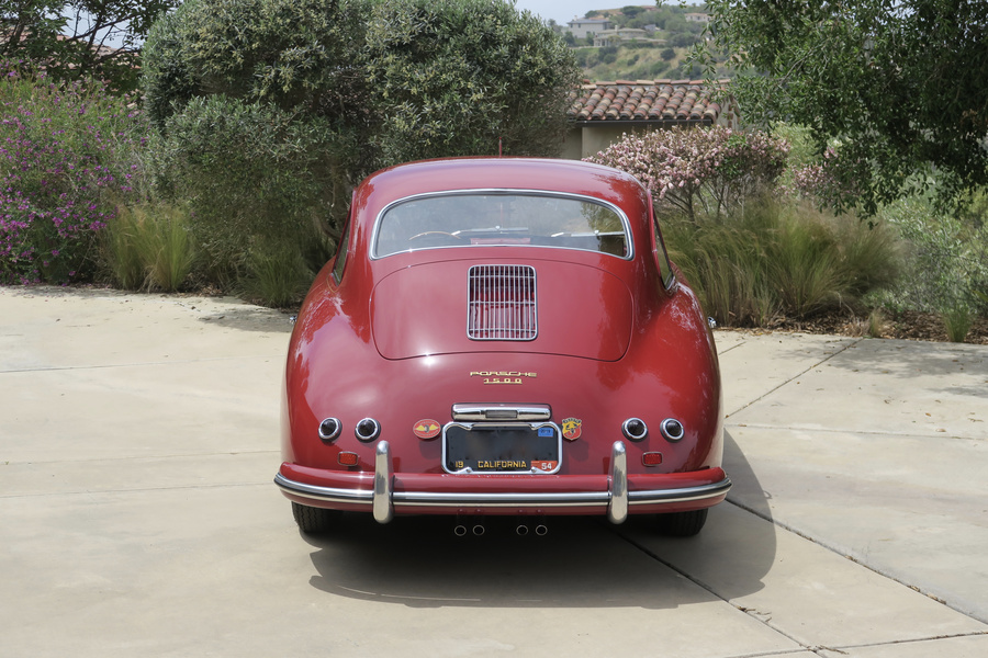 Porsche 356 pre-A 1500 Coupé 44kW-version, 1954 - #34