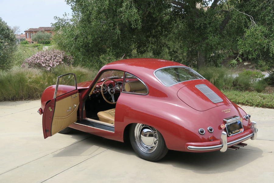 Porsche 356 pre-A 1500 Coupé 44kW-version, 1954 - #18