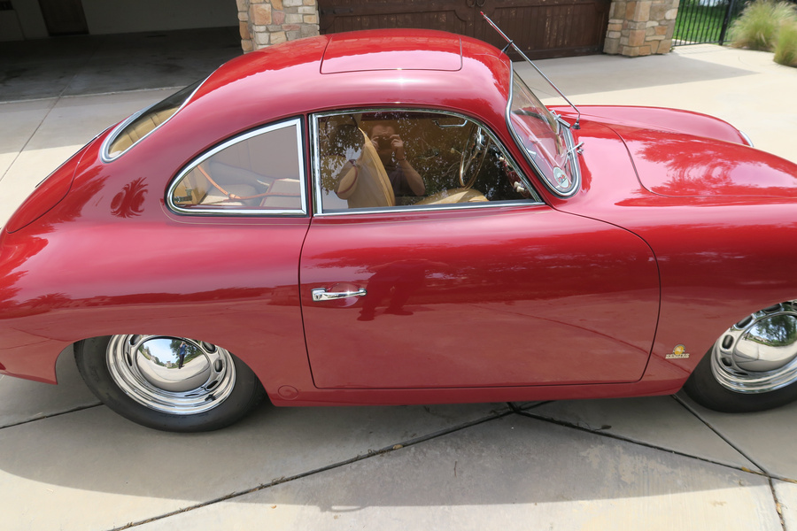 Porsche 356 pre-A 1500 Coupé 44kW-version, 1954 - #40