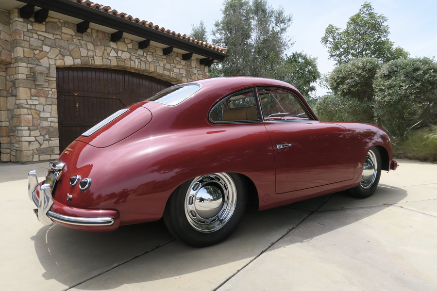 Porsche 356 pre-A 1500 Coupé 44kW-version, 1954 - #38