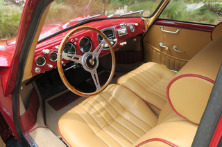 Porsche 356 pre-A 1500 Coupé 44kW-version, 1954 - Primary interior photo