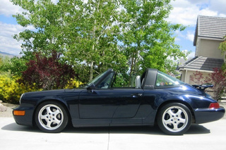 Porsche 911 964 Carrera 2 Targa, 1992 - Primary exterior photo