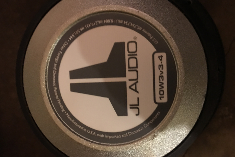 Custom Subwoofer Box And Jl Audio Subs For Sale By David