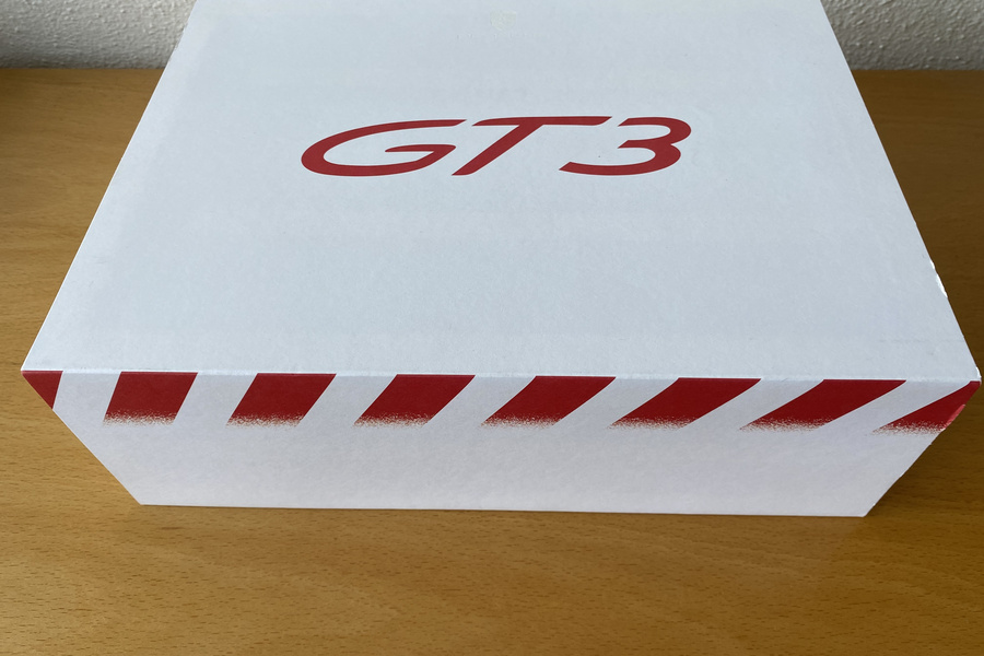 Rare GT3 box with brochure and GT3 model  - #1