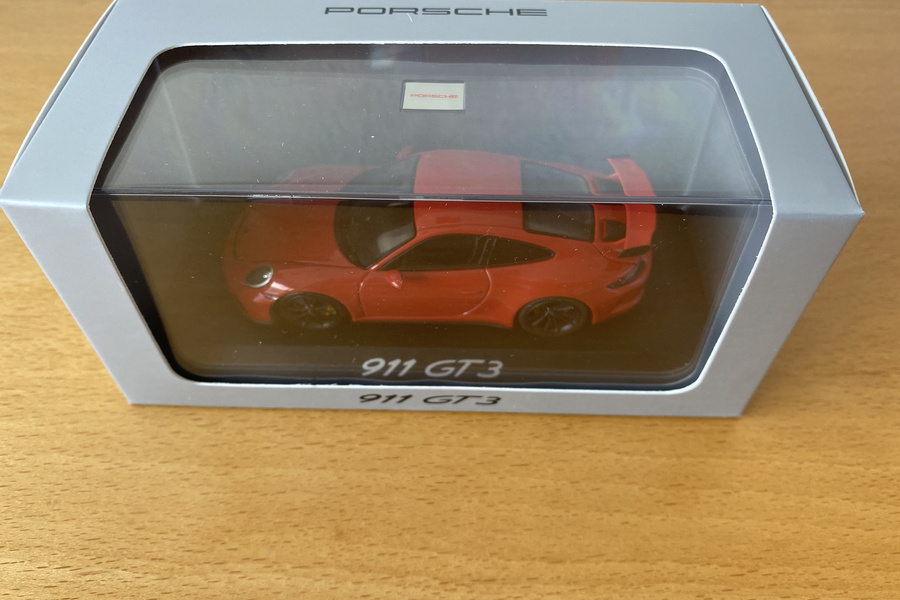 Rare GT3 box with brochure and GT3 model  - #6