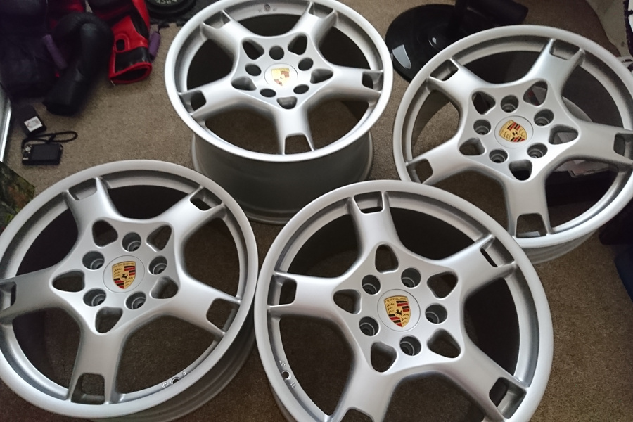 "19"" Porsche lobster claw wheels for sale by Karl hill ..."
