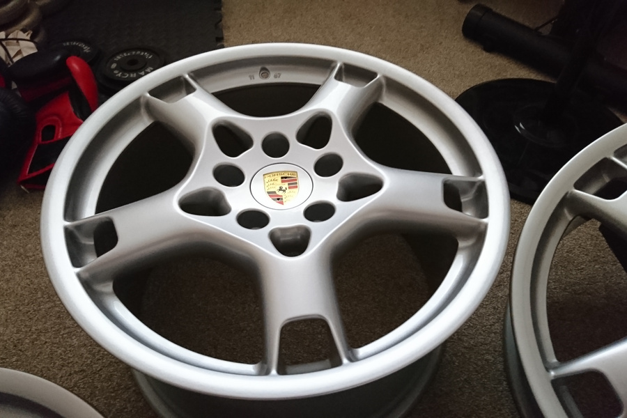 19 Quot Porsche Lobster Claw Wheels For Sale By Karl Hill