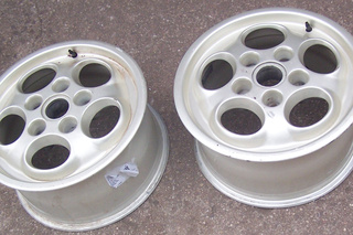 944 Turbo Cup magnesium wheels 95136211611/95136211810 - Secondary photo