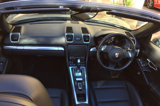 Porsche Boxster 981 (2.7), 2013 - Primary interior photo
