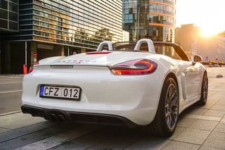 Porsche Boxster 981 S, 2013 - Primary exterior photo