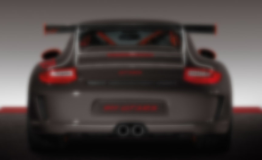 Porsche 911 997.2 GT3 RS 3.8 rear view