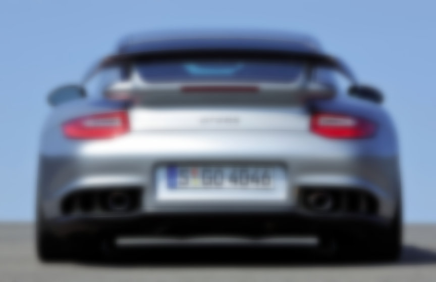 Porsche 911 997 GT2 RS rear view