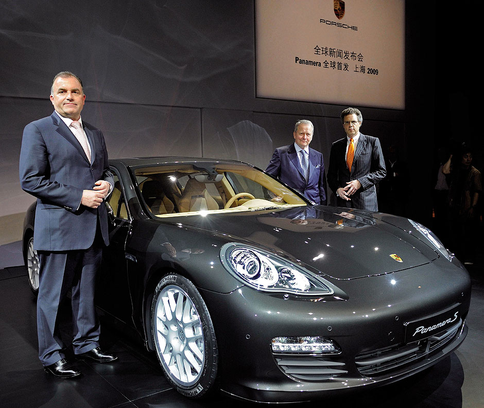 Panamera world premiere in Shanghai, April 2009