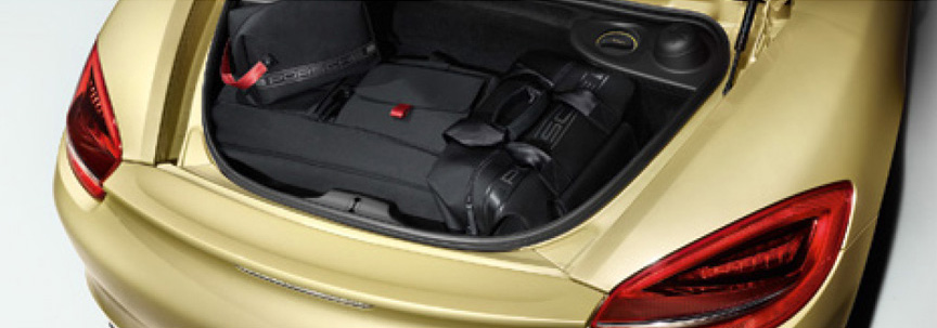 Porsche Boxster 981 rear trunk