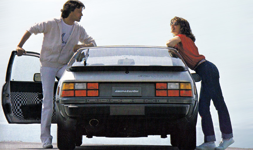 Porsche 924 Turbo (931) USA version, rear view