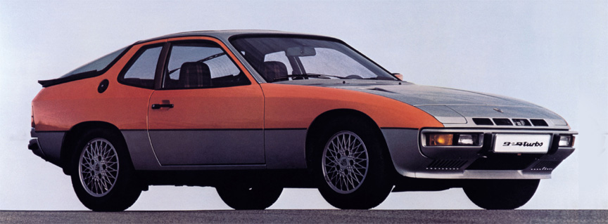 Porsche 924 Turbo (931), two-tone paint scheme