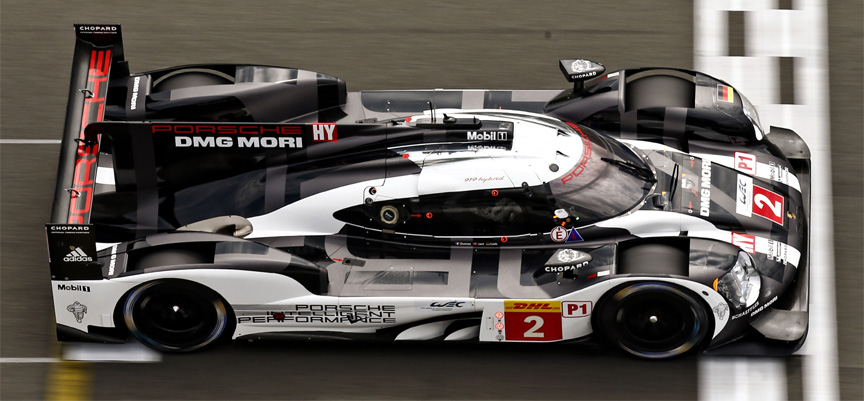 2016 Porsche 919 hybrid Nürburgring 6 hours, with new nose