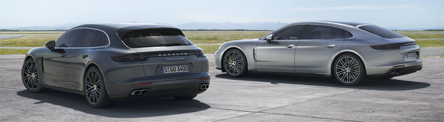 Panamera Sport Turismo and Coupé 2017 2018