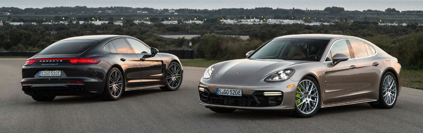 Panamera 971 Turbo S e-hybrid European and American (USA) version